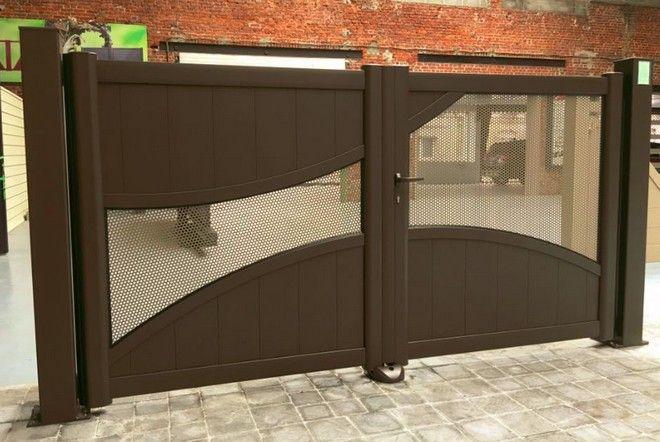 portail alu lecateau art portails. Black Bedroom Furniture Sets. Home Design Ideas