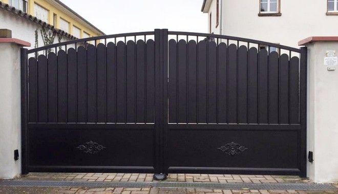 portail alu story ivc art et portails 14 art portails. Black Bedroom Furniture Sets. Home Design Ideas