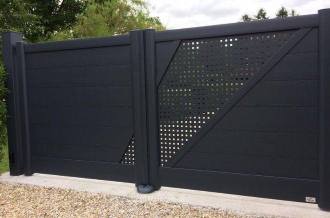84cf2f7b45f006 Le portail alu concurrence ainsi les autres matériaux tels que   le bois, le  pvc ou l acier par exemple. En revanche l aluminium reste le matériau par  ...