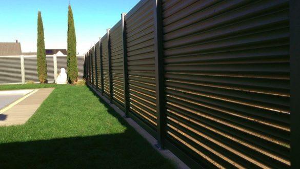 clôture alu brise vue