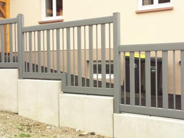 cloture alu verticale art et portails moderne design