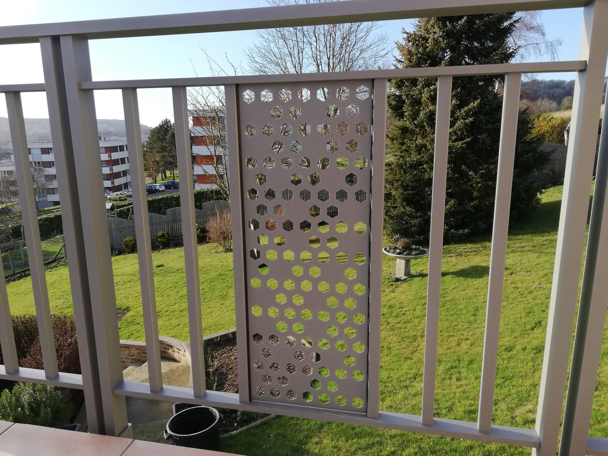 Garde corps IVA moderne design art et portails