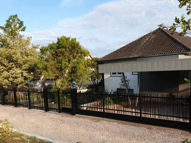 clôture verticale  art et portails moderne